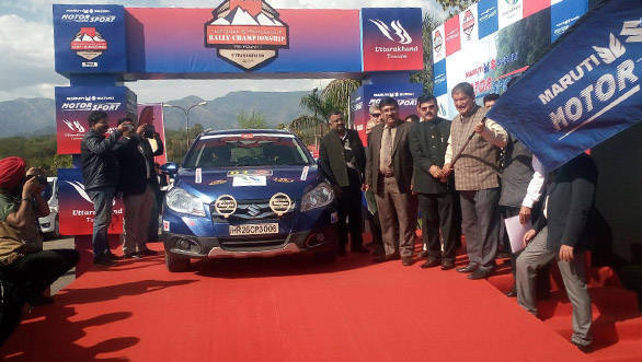 Maruti Suzuki flaggs off rally championship from Dehradun - 1