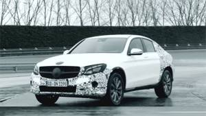 2016 New York Motor Show: Mercedes Benz GLC coupe teased