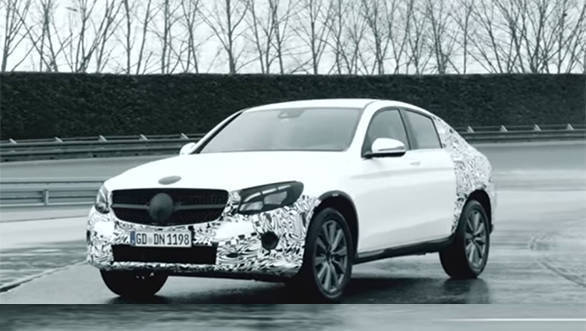 Mercedes Benz GLC Coupe front