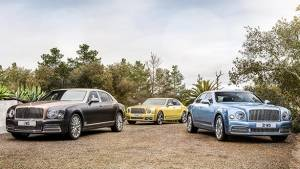 2016 Geneva Motor Show: Bentley Grand Limousine and Mulsanne facelift unveiled