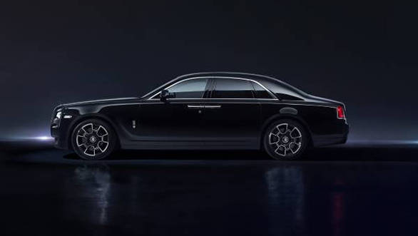 Rolls Royce Black Badge five