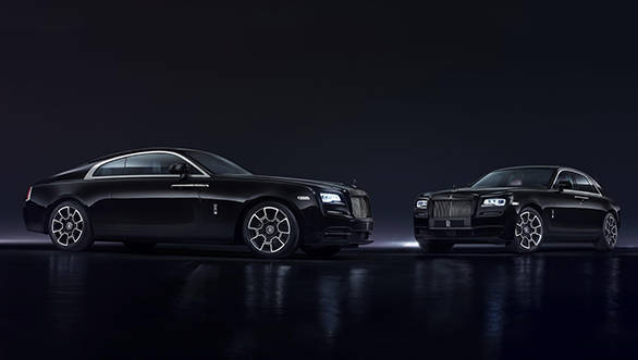 Rolls Royce Black Edge seven