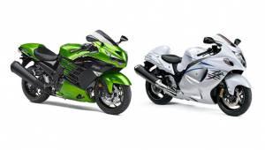 Spec Comparison: Kawasaki ZX-14R vs Suzuki Hayabusa