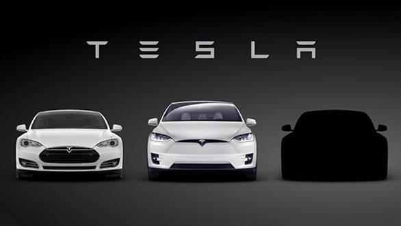 Tesla Model 3 teaser