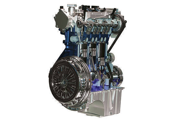 The 1.0-litre EcoBoost is unlike any engine in Ford's history spanning more than a century. Not only is it the company's first three-cylinder engine but it also has the highest power density of any Ford production engine.