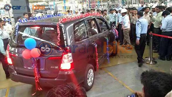 Toyota Innova ceases production, Bidadi plant_1
