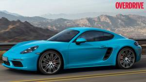 Porsche 718 Cayman line revealed