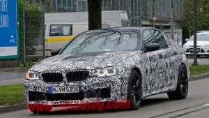 Spied: BMW M5 facelift caught testing