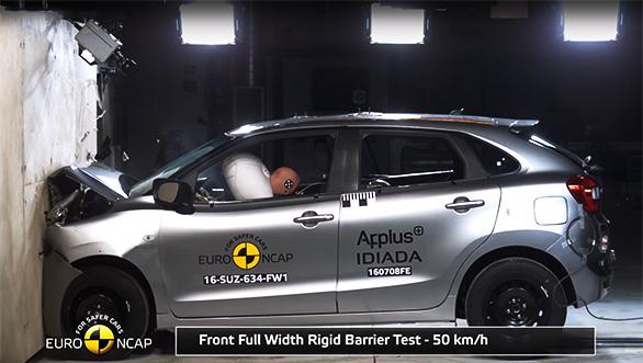 Baleno crash test(4)