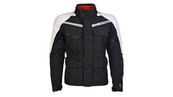Darcha - 4 Season Touring Jacket (Black & Silver)