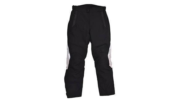 Darcha - 4 Season Touring Textile Trousers (Black & Silver)