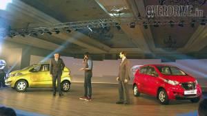 Production-spec Datsun redi-Go unveiled in India