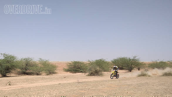 CS Santosh extends his lead in the Moto category of the 2016 Desert Storm after Leg 4 of the event