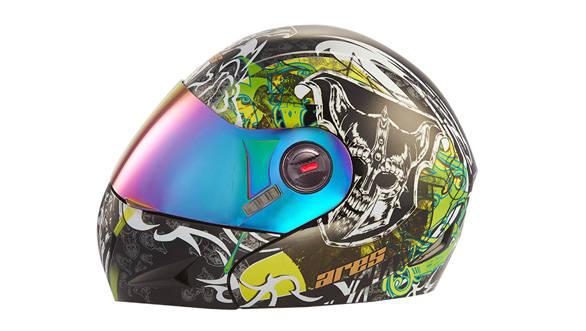 Devil Face Black helmet