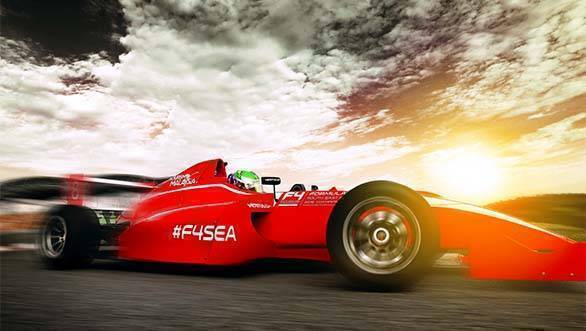 F4 South East Asia Championship car