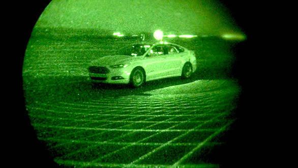Ford Fusion Autonomous Research Vehicle (1)