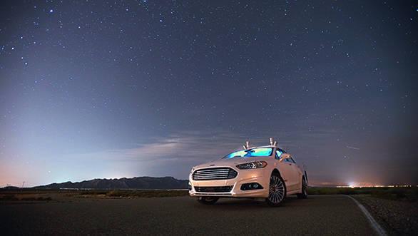 Ford Fusion Autonomous Research Vehicle (7)