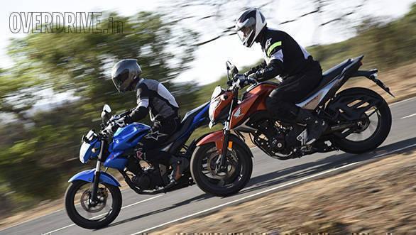 Honda Hornet Vs Suzuki Gixxer (18)