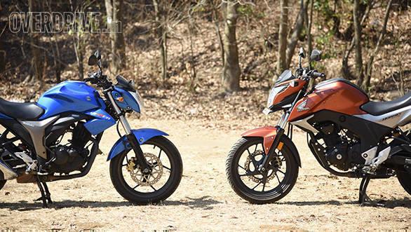 Honda Hornet Vs Suzuki Gixxer (23)