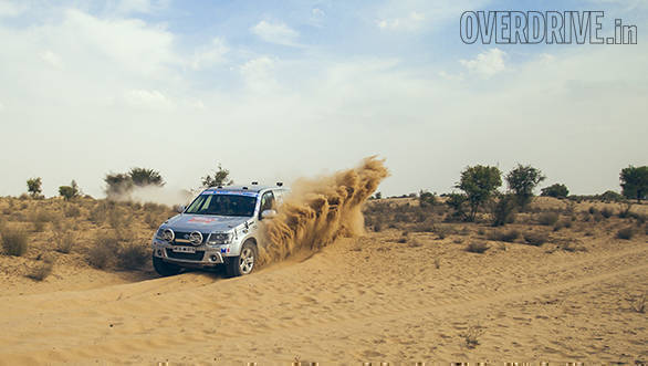 With Mishra out of the rally, Rana was first with a comfortable 69-minute lead