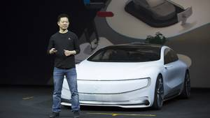 LeEco LeSEE electric car unveiled in Beijing