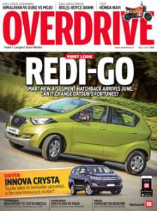 May 2016 issue of OVERDRIVE on stands now
