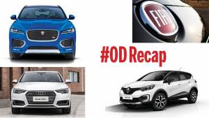 #ODRecap: Fiat under scanner, Audi A4 L unveiled and Jaguar F-Pace details