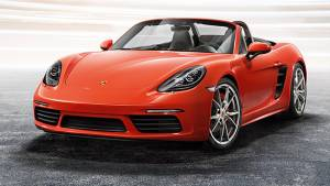 Porsche 718 Boxster S not coming to India