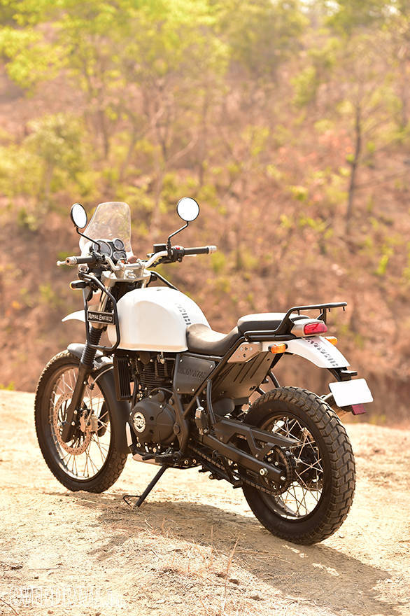 Royal Enfield Himalayan Rear 3/4 shot