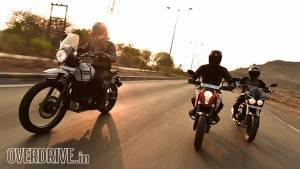 Comparo: Royal Enfield Himalayan vs KTM 200 Duke vs Mahindra Mojo
