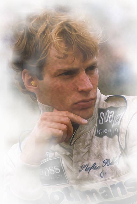 Stefan Bellof (GER) Tyrrell. Formula 1 World Championship, 1984