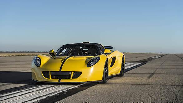 Venom GT Convertible World Record (6)