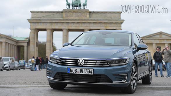 Dokumentation Testfahrzeug Passat GTE am 20.04.2016 in Berlin