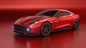 Aston Martin Vanquish Zagato Concept revealed