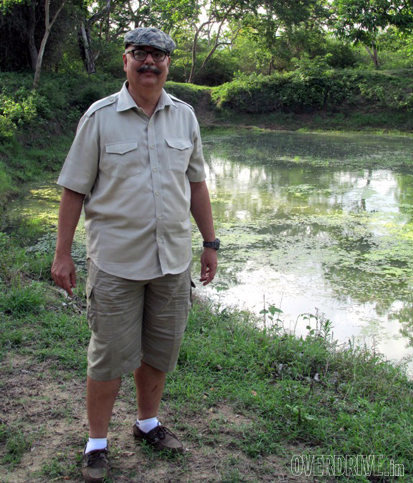 Bob at a waterhole in Bandipur