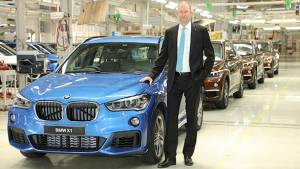 2016 BMW X1 rolls out from Chennai plant