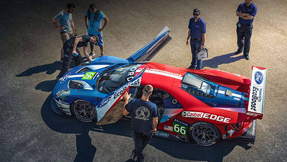 Four Ford GTs will make it to the Circuit de la Sarthe in 2016