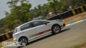 Affordable hot hatchback track test: Fiat Punto Abarth