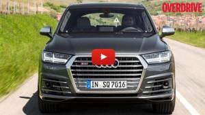 Video: 2016 Audi SQ7 TDI first drive review