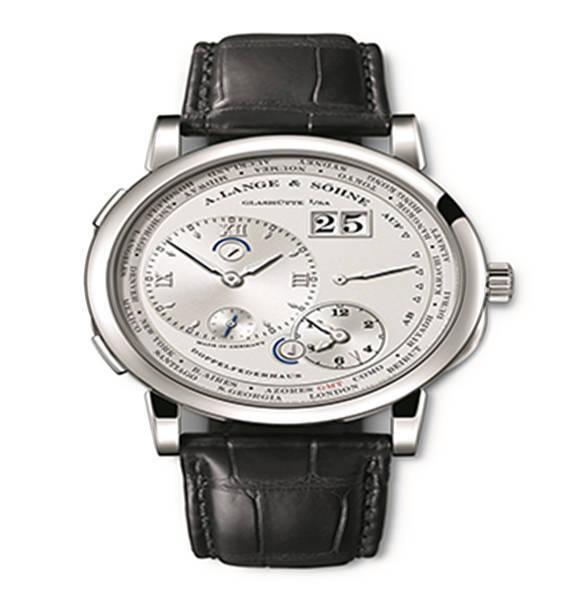 Lange 1 time zone como edition wristwatch 1