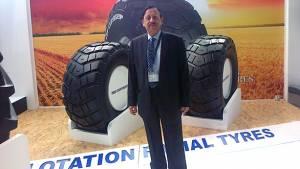 TVS Tyres showcases new flotation radial tyres at REIFEN '16