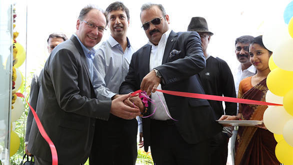 Ribbon Cutting of Renault Selection by Mr. Sumit Sawhney, Country CEO and Managing Director, Renault India Operations