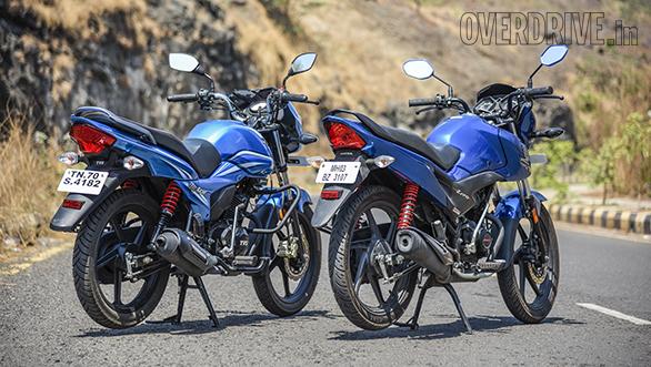 TVS Victor Vs Honda Livo Comparo (4)