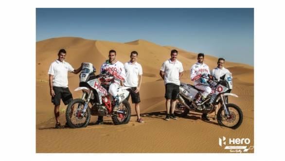 Team Hero MotoSports Rally readies itself for the Merzouga Rally