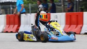 Asian Karting: Shahan Ali Mohsin wins at Elite Speedway