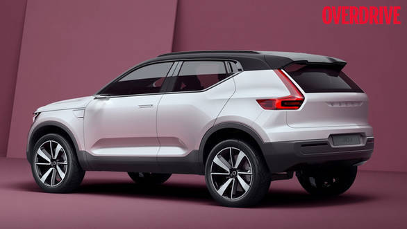 Based on the Common Modular Architecture, the upcoming 40 series of cars from Volvo will wear a more youthful styling than their more elegant siblings higher up the range