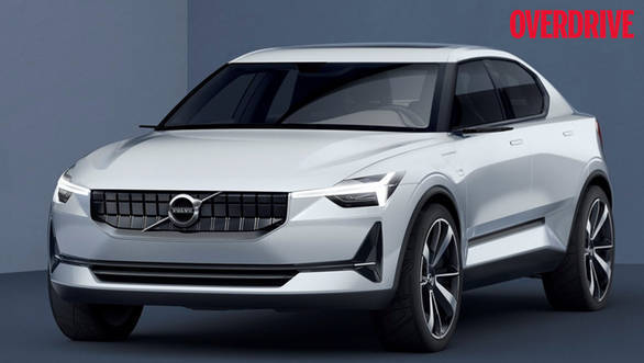 The Volvo 40.2 concept previews the third-generation S40 compact luxury sedan