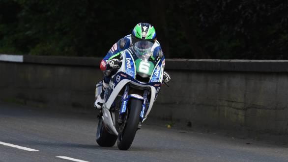 Ivan Linten won the 2016 Lightweight TT at the Isle of Man