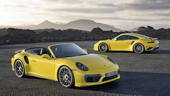 911 Turbo S und 911 Turbo S Cabriolet