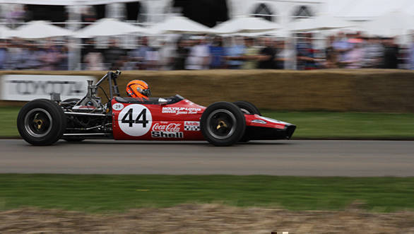 The Lotus-Ford 59 is a part of the collection of cars that James Hunt drove in his career. This F3 car saw him to four wins. Although he was at that point already dubbed Hunt The Shunt